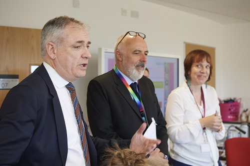 Minister for Education visits Inverness College UHI