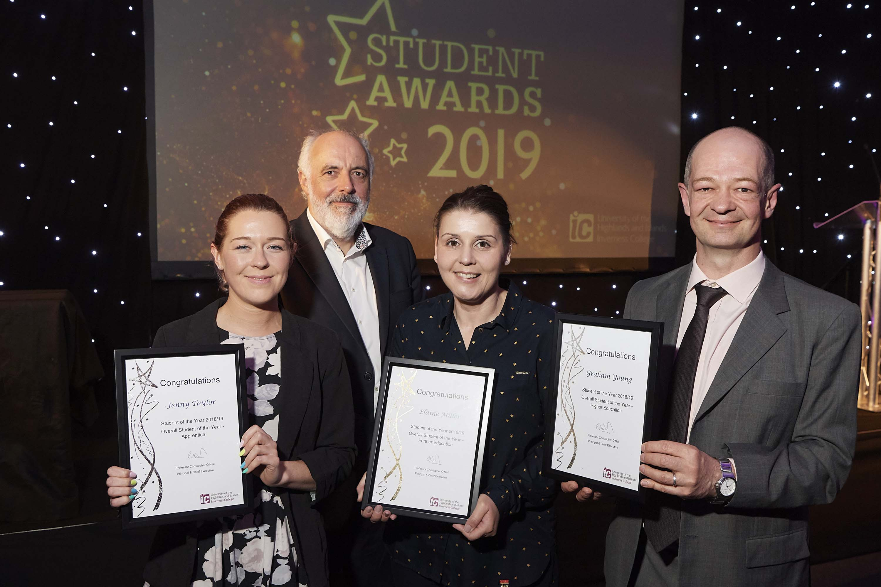 Inverness College UHI hosts annual student awards ceremony