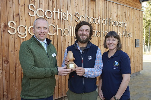 Inverness College UHI wins industry award from Tilhill Forestry
