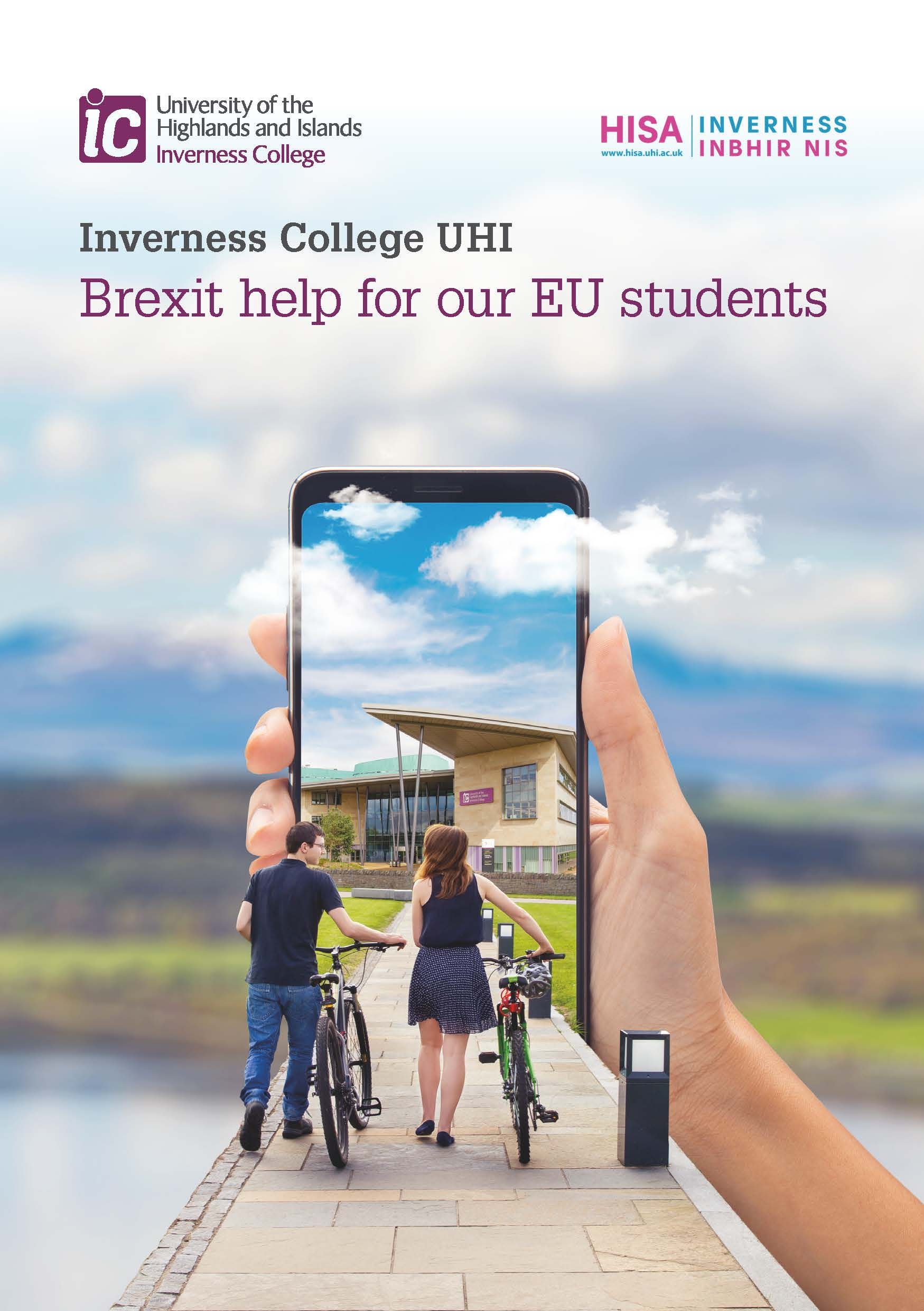 Brexit advice for EU students
