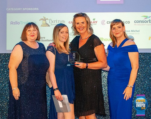 Inverness College UHI Early Learning and Childcare Centre wins Scottish NMT Nursery Award