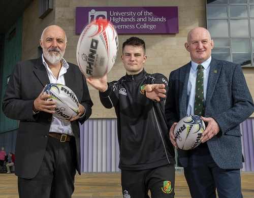 Inverness College UHI signs deal with Highland Rugby Club