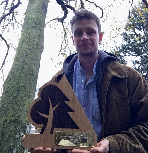 Scottish School of Forestry student wins Tilhill award