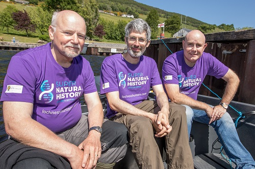 Rivers and Lochs Institute at Inverness College UHI join global team of scientists in Loch Ness hunt