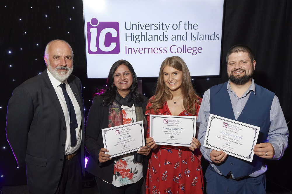 Inverness College UHI celebrates annual Student Awards