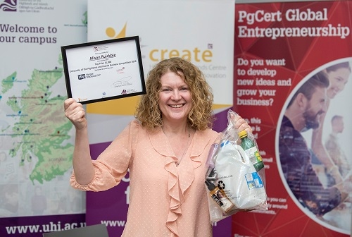 WINNERS REVEALED: University of the Highlands and Islands Business Competition