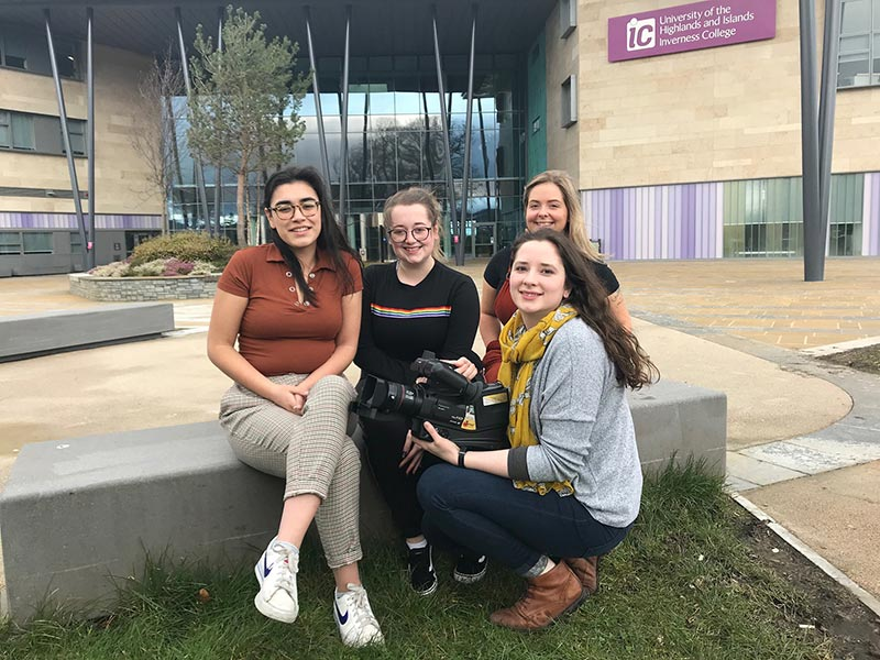 Inverness College UHI drama students work with mental health charity Mikeysline to support work
