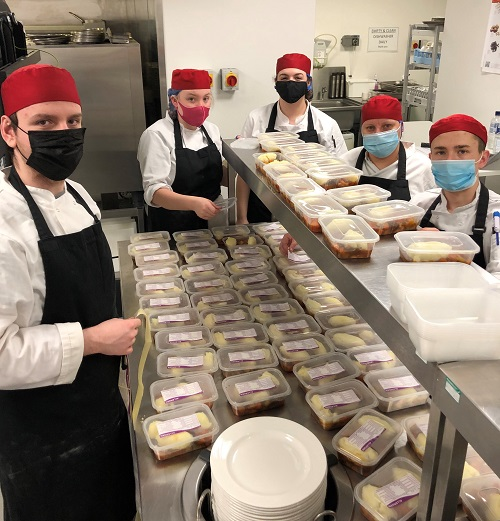 Inverness cookery students support families in need this Christmas