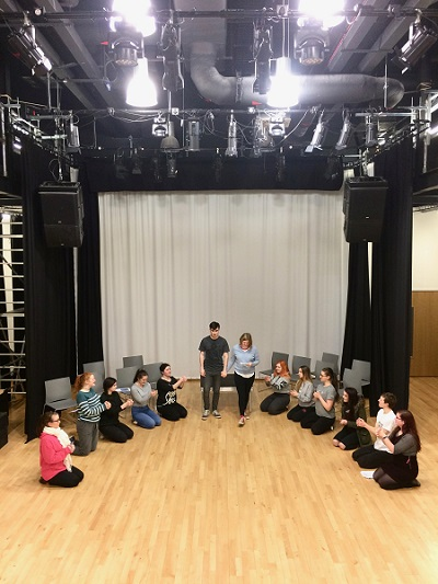 Inverness College UHI students prepare for society's theatre debut