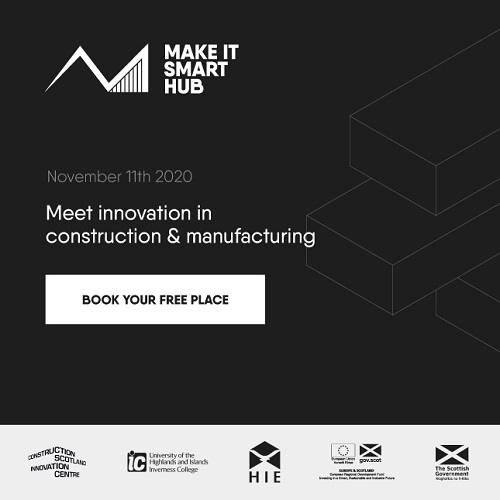 Launch of new innovation hub to help construction and manufacturing companies in the Highlands and Islands