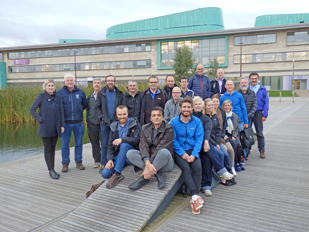 Salmon research attracts international experts to Inverness College UHI