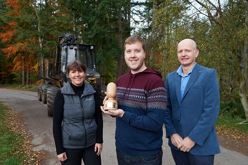 Scottish School of Forestry student wins industry award