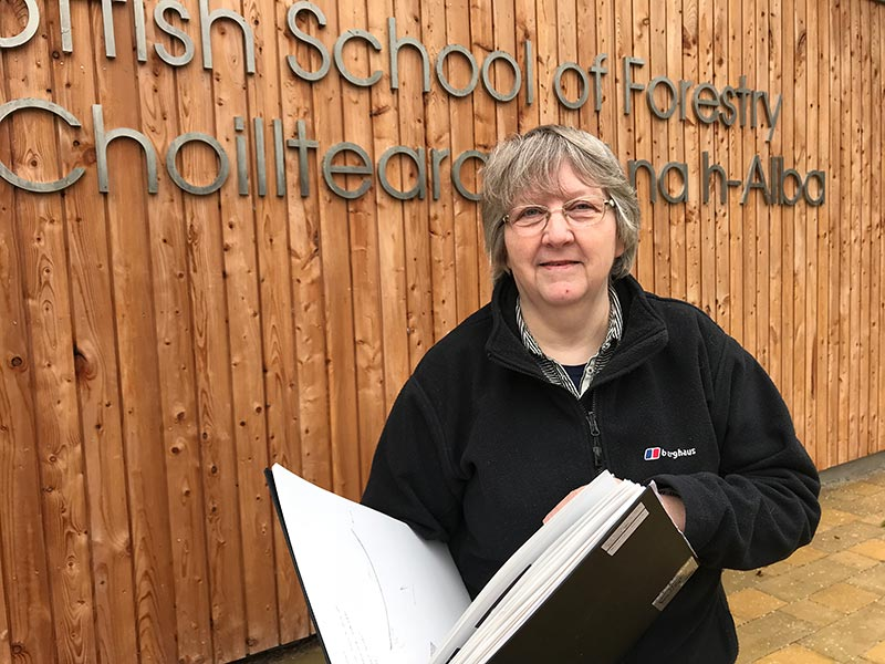Scottish School of Forestry welcomes Artist in Residence
